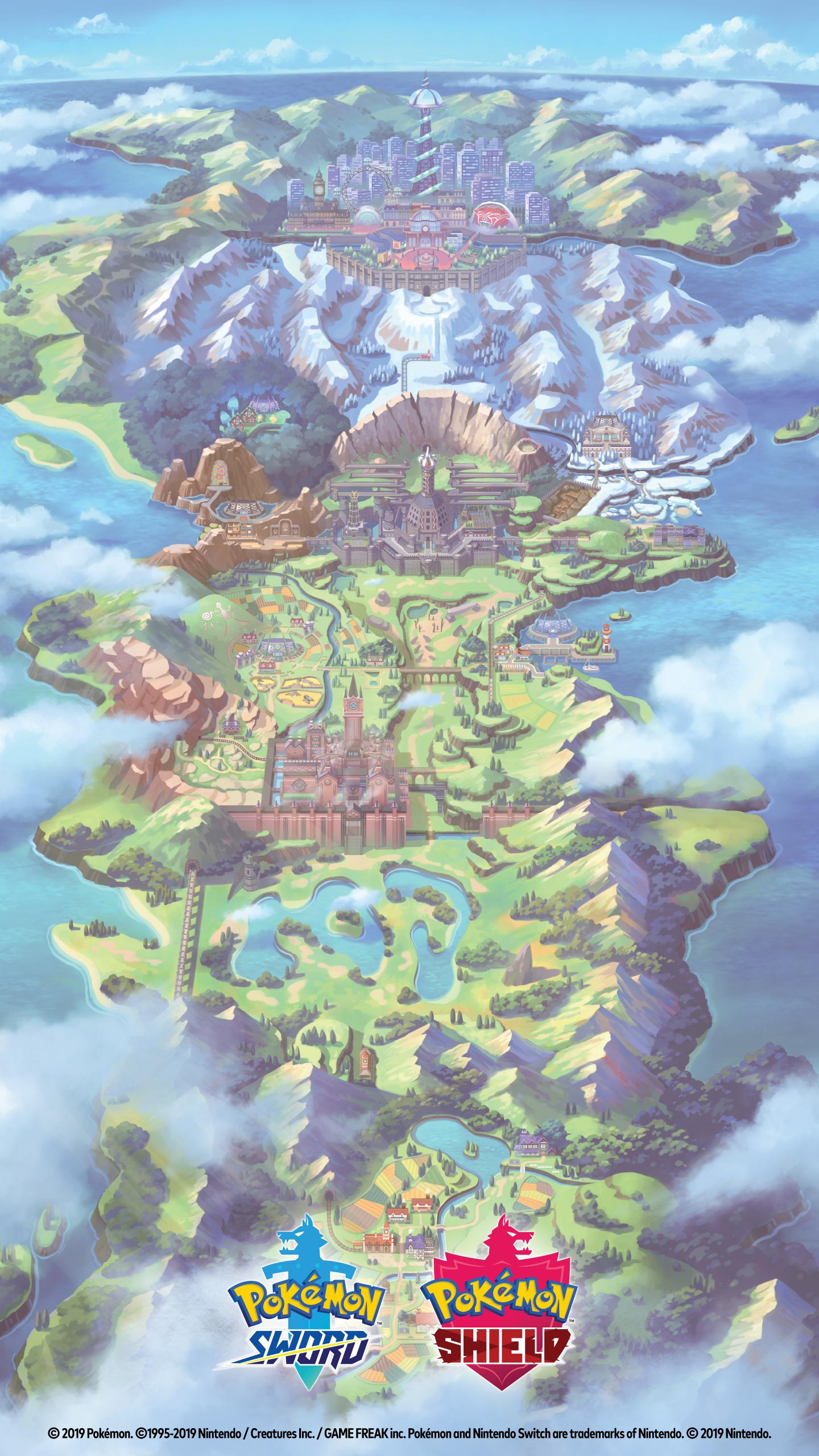 Pokemon Sword Shield Wallpaper Mynintendo
